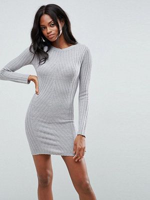 Brave Soul Rib Jumper Dress