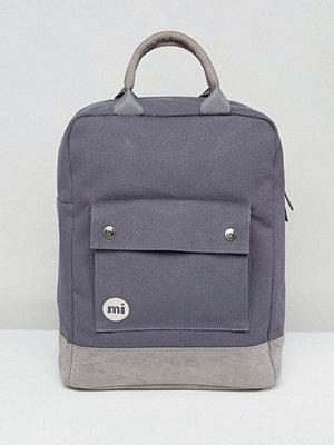 Mi-Pac ryggsäck Tote Backpack in Charcoal
