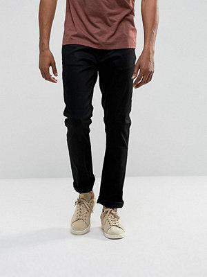 Jeans - Nudie Jeans Co Dude Dan Straight Fit Jean Dry Ever Black