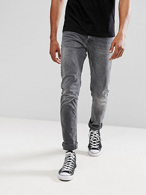 Jeans - Nudie Jeans Co Tilted Tor Skinny Fit Jean Crispy Grey Wash