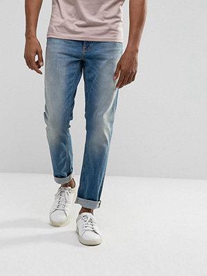 Jeans - Nudie Jeans Co Lean Dean Taper Fit Jean Rebel Blues Wash