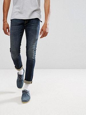 Jeans - Nudie Jeans Co Skinny Lin Jean Blue Motion Wash