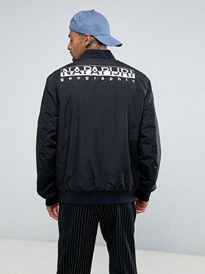 Bomberjackor - Napapijri Tier 1 Askam Bomber Jacket with Logo Back