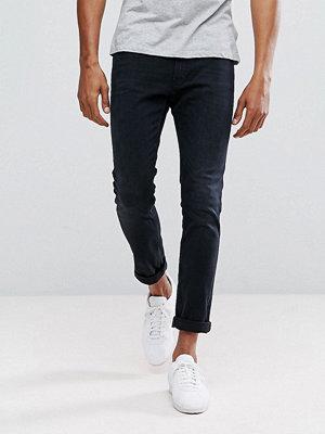 Jeans - HUGO by Hugo Boss Hugo 734 Skinny Fit Super Stretch Jeans in Washed Blue