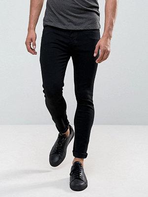 Jeans - Dr. Denim Leroy Super Skinny Black Punk