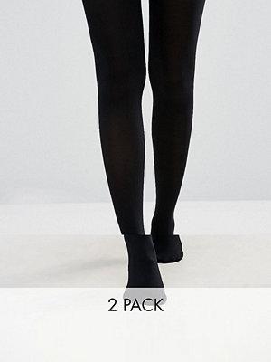 New Look 2-pack strumpbyxor i 70 denier