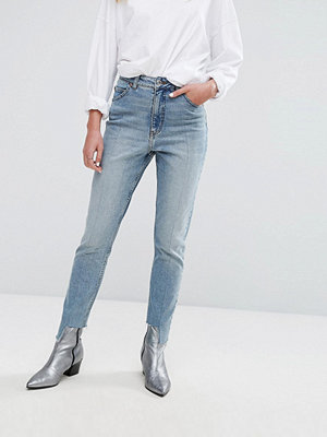 Cheap Monday High Rise Mom Jean with Stepped Hem