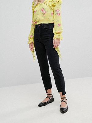 Miss Selfridge Twist Seam Mom Jeans