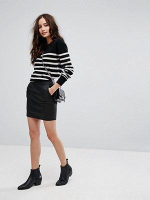 Only Vinyl Mini Skirt