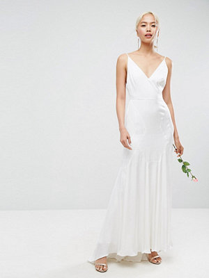 ASOS Edition Cami Wedding Maxi Dress With Seam Details