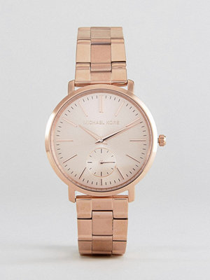 Michael Kors MK3501 Jaryn Bracelet Watch In Rose Gold
