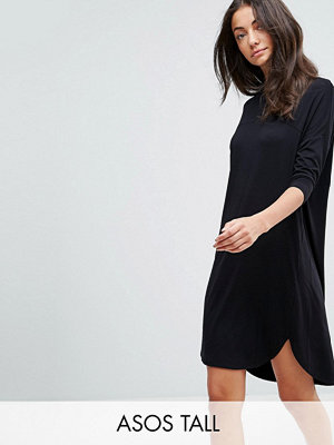 Asos Tall Oversize T-Shirt Dress with Seam Detail