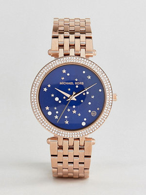 Michael Kors MK3728 Darci Star Dial Bracelet Watch In Rose Gold