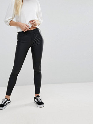 New Look Coated Black Jegging