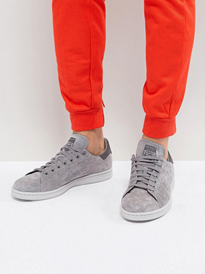Sneakers & streetskor - Adidas Originals Stan Smith Trainers In Grey BZ0452