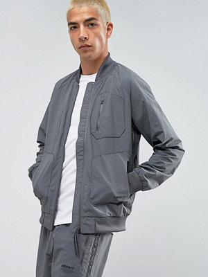 Bomberjackor - Adidas Originals NMD Urban Track Bomber Jacket In Grey BS2515