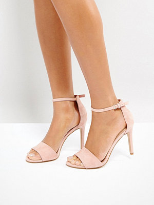 Aldo Fiolla Blush Heeled Sandals