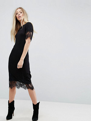Brave Soul Elina Lace Trim Dress