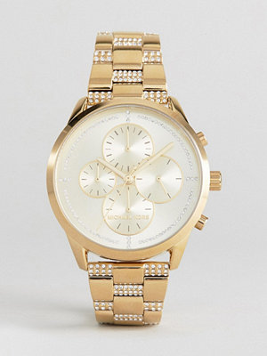Michael Kors MK6519 Slater Chronograph Bracelet Watch In Gold