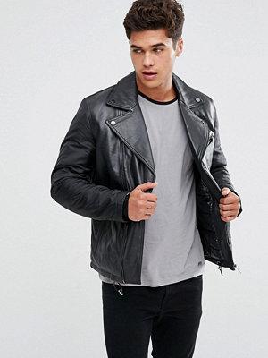 Skinnjackor - KIOMI Leather Biker Jacket