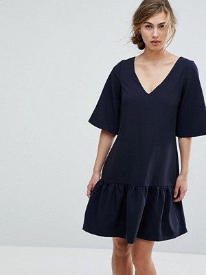 Closet London Drop Waist Mini Dress