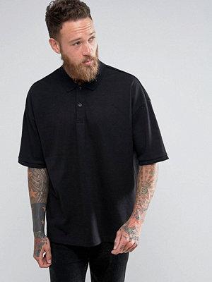 Pikétröjor - AllSaints Drop Shoulder Polo Shirt