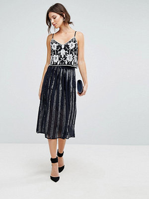 Coast Sequin Panelled Skirt