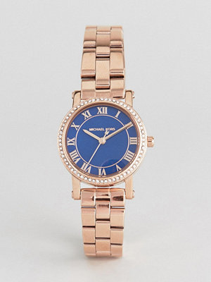 Michael Kors MK3732 Petite Noire Bracelet Watch In Rose Gold