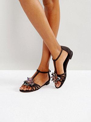ASOS FEEDBACK Embellished Sandals