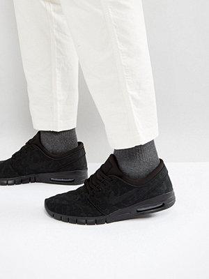 Nike Sb Stefan Janoski Max Trainers In Black 631303-099