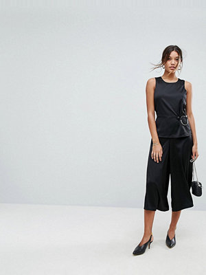 Aéryne Wide Leg Jumpsuit with Ring Detail
