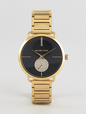 Michael Kors MK3788 Portia Bracelet Watch In Gold