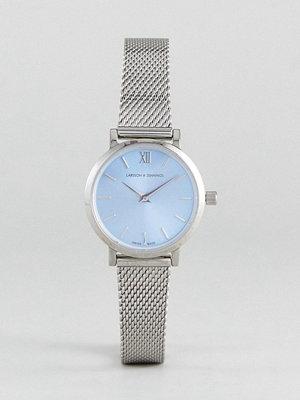 Klockor - Larsson & Jennings LCN26 Lugano & Norse Solaris Mesh Watch In Silver