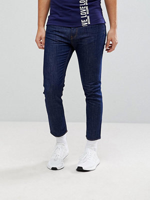 Jeans - Love Moschino Cropped Slim Fit Jeans in Indigo
