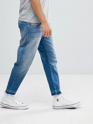 Jeans - Selected Homme Jeans In Tapered Fit With Cropped Leg
