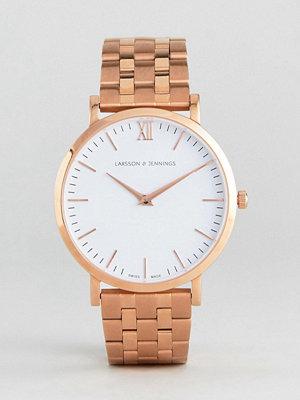 Klockor - Larsson & Jennings LGN40 Vasa Bracelet Watch In Rose Gold