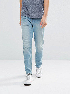 Jeans - ASOS Tapered Jeans In Light Wash Blue
