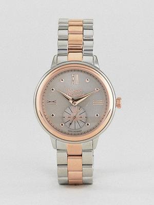 Klockor - Vivienne Westwood VV158GYTT Chronograph Bracelet Watch In Mixed Metal