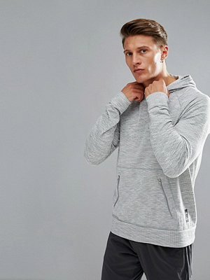Street & luvtröjor - Adidas X Reigning Champ Primeknit Hoodie In Grey CE9538