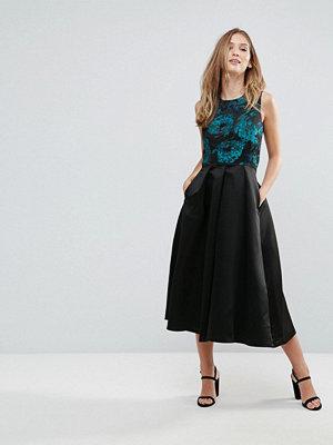 Closet London Closet Skater Dress With Printed Body
