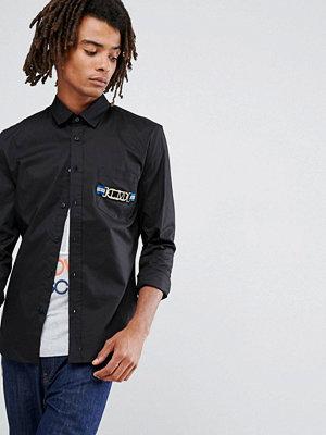 Skjortor - Love Moschino Gold Pocket Shirt
