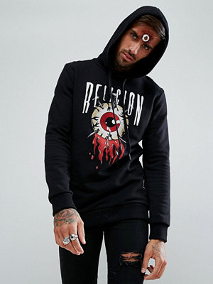 Street & luvtröjor - Religion Halloween Hoodie With Eye Print
