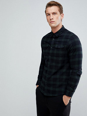 Skjortor - Burton Menswear Slim Check Shirt