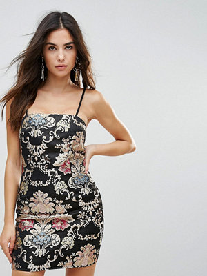 Parisian Jaquard Mini Dress