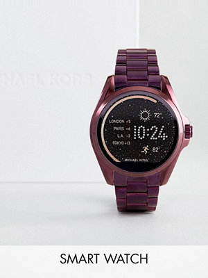 Michael Kors Access MKT5017 Bradshaw Bracelet Smart Watch In Purple