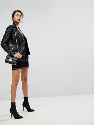 Morgan Mogan Detail Mini Skirt