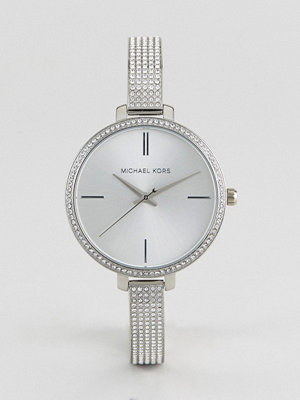 Michael Kors MK3783 Jaryn Mesh Watch In Silver