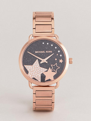 Michael Kors MK3795 Portia Bracelet Watch In Rose Gold