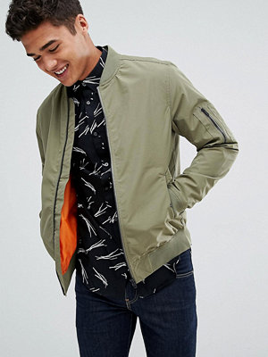 Bomberjackor - Jack & Jones Core Bomber Jacket with MA-1 Pocket