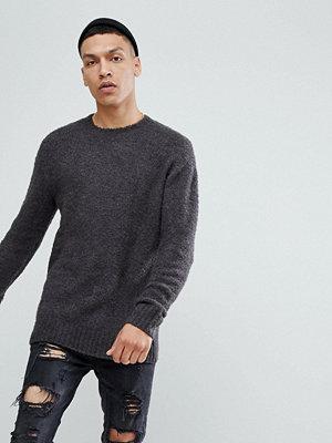 Tröjor & cardigans - Brooklyns Own Boucle Jumper In Grey